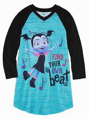 Details about  /Vampirina Little Girls Nightgown W// Matching Doll Gown NWT   Sweet Vee   Size 4