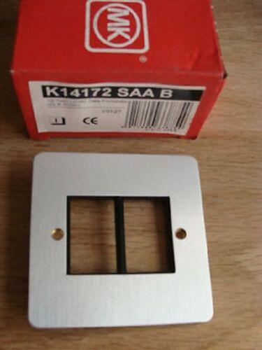 Mk k14172 SAA B edge 1g twin lju6c données com module FRONTPLATE 22 x 37mm