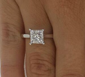 Image Is Loading 1 24 Ct Princess Cut Woman Single Diamond