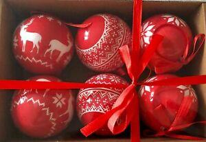 Christmas-Tree-Decoration-Red-Reindeer-Scandi-Design-6-Pack