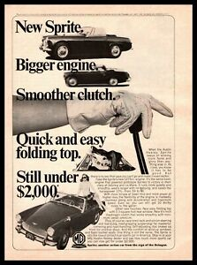 Classic Vintage Advertisement Ad D199 1964 AMCO Austin Healey Sprite MG Midget