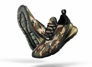 01245e18633 Nike Air Max 270 DB Doernbecher Aiden Barber Camo Olive Brown Black ...