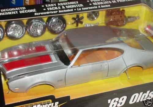 Ertl 1969 oldtimer 442 versammlung modell - 1   18 body shop - serie vhtf