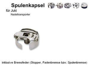 Spulengehäuse für Juki - NADELTRANSPORT Masch. mit Fadenabschn. + Fad.-Br  #DLN