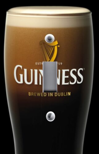 Light Switch Plate Switchplate & Outlet Covers DUBLIN GUINNESS GLASS OF BEER