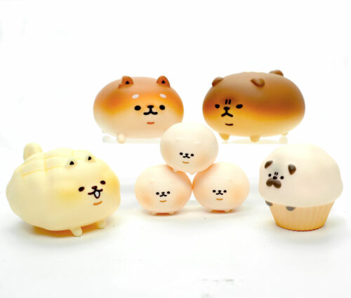 Yeast Ken Bread Dog Kawaii Blind Box Capsule Gashapon Figure 1 Random Figure