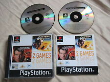 007 Tomorrow never Dies/World is not enough Ps1 1a Stampa Italiana con Manuale