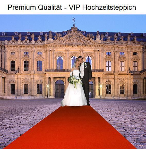 Velour Event Hochzeits Roter Teppich VIP 130x520 rot Velourteppich Velourteppich Velourteppich b4bc1b