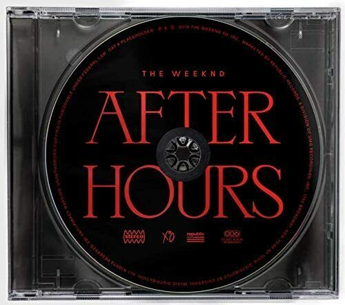 After Hours by The Weekend CD - 1-Disc - Free Next Day Delivery