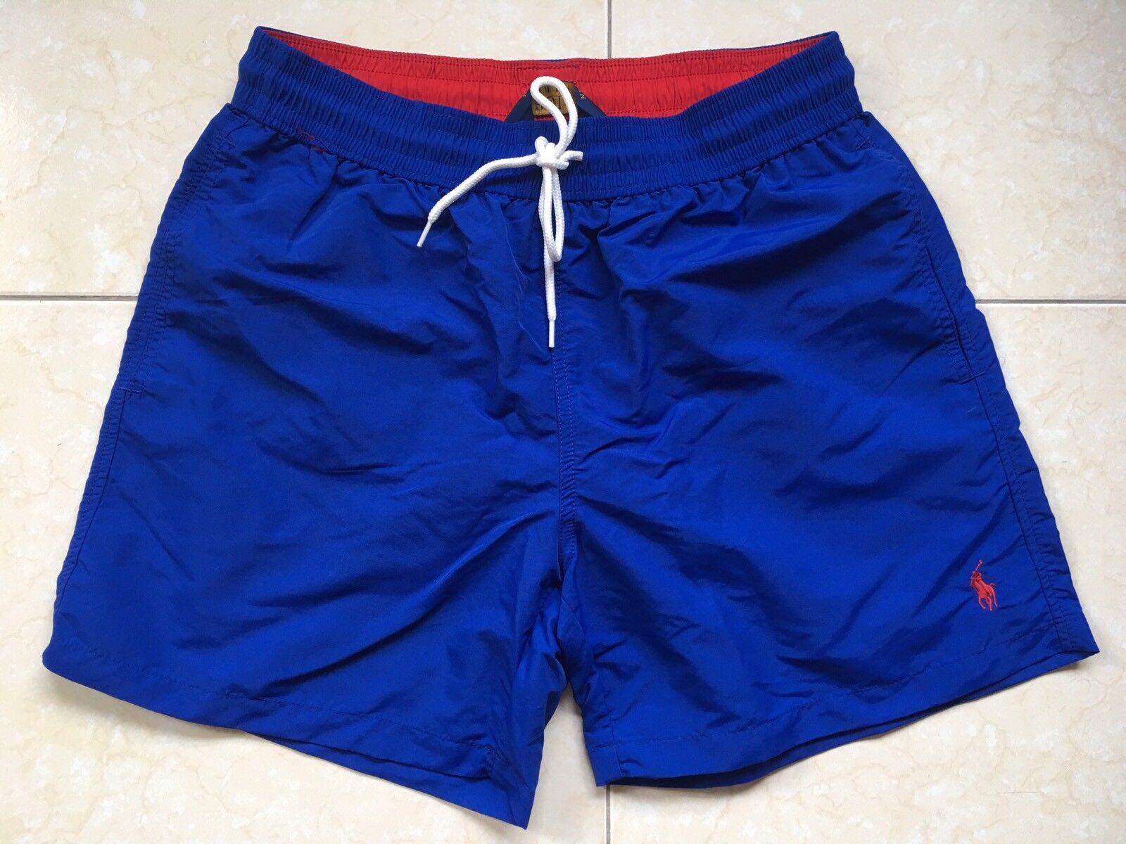 Polo Ralph Lauren Swim Shorts Traveler Trunk Royal bluee Side S ,M