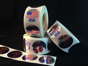 500-Made-In-U-S-A-Labels-stickers-silver