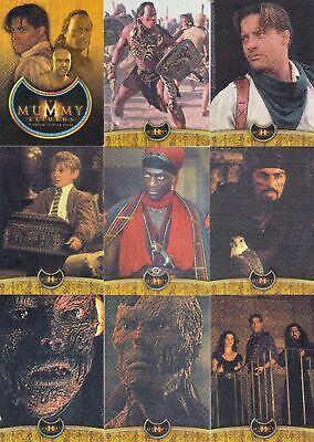 Inkworks The Mummy Returns Complete 81 Card Base Set
