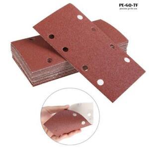 40-800 Grit 1/3 sheet Sanding Pad Sanding Paper Hook Loop Sheet 93 x 185mm