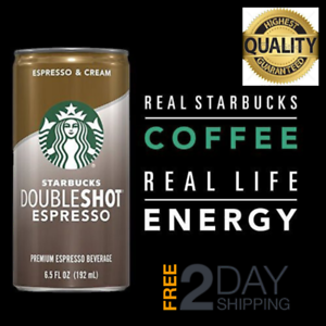 Details About Starbucks Double Shot Espresso Coffee Drink 6 5 Fl Oz Pack Of 12 Free Shipping
