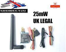Skyzone FPV TS5813S 5.8G 25mW 40CH Mini AV Wireless Transmitter + GoPro 3 Cable
