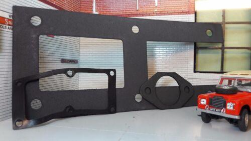 Land Rover Serie 2 2a 3 Pedal Caja Mamparo Junta muc7505 anr5308 272819 Set