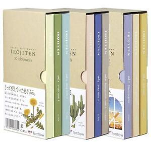 Tombow Irojiten Color Dictionary Color Wooden Pencil Set First Vol. 1 Vol. 2 Vol