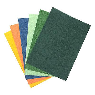 dunkelblau im Format DIN A4-21,0 x 29,7cm 4 Blatt handgeschöpftes Naturpapier
