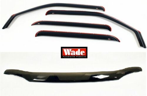 In-Channel Vent Visors Combo 2003-2006 Ford Expedition Bug Shield /& 4 pc