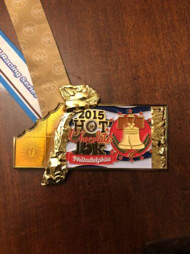 2015 Hot Chocolate 15k Philadelphia finisher medal