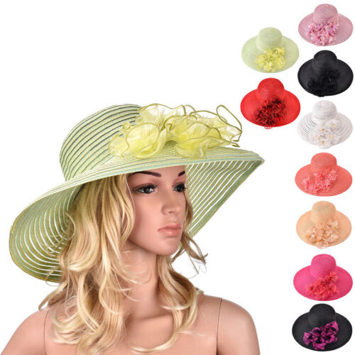 Imported from Taiwan Women/'s Feather Kentucky Derby Wedding Race Church Hat A366