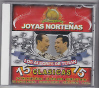 Cd-los Alegres De Teran-joyas Nortenas-15 Clasicas-tejano Tex Mex Cd Sealed