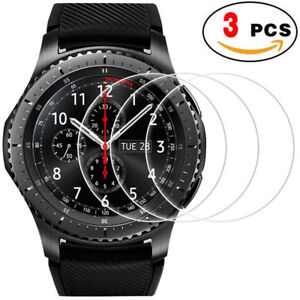 3-Pack-Tempered-Glass-Screen-Protector-For-Samsung-Gear-S3-Frontier-Smart-watch