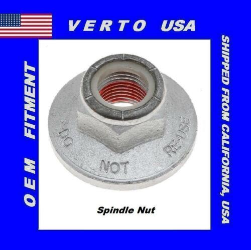 Front Spindle Nut For Ford F-150 2004 to 2008 Lincoln Mark LT 2006 to 2008