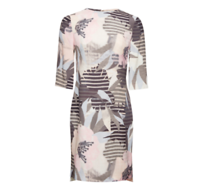 Whistles --  - Maya Darcy Silk Dress - Multi Floral - New With Tag - Größe 10