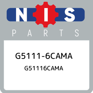 G5111-6CAMA-Nissan-G51116cama-G51116CAMA-New-Genuine-OEM-Part