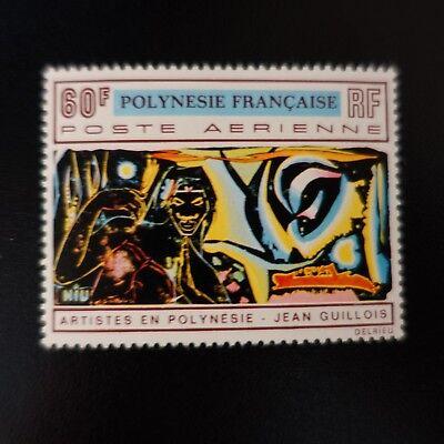Frankreich & Kolonien Stetig Polynesien FranzÖsisch Post Luft Pa Nr.42 Neuf Luxe Originale Gummi Mnh Briefmarken