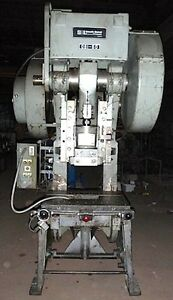 south bend johnson model 60bg ac back geared obi punch press ebay rh ebay com Punch Press Transfer Press