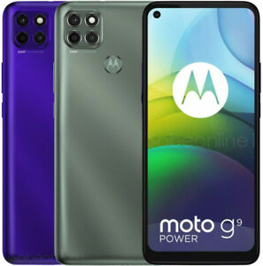 "Motorola Moto G9 Power XT2091-3 64GB 4GB RAM (FACTORY UNLOCKED) 6000mAh 6.8"""