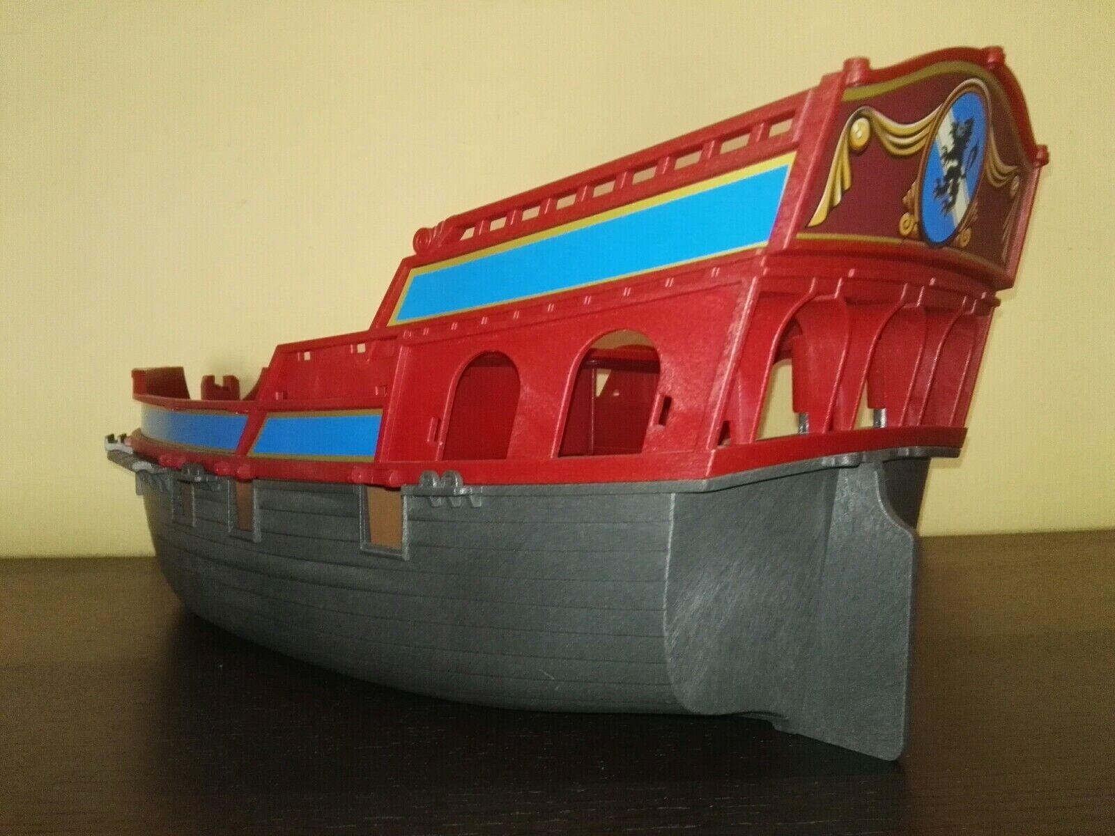 Playmobil 3940- 3286- Pirate Flagship Pirate Ship , 2000-2001 Ship Hull (1)