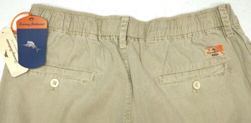 NWT $118 Tommy Bahama Khaki Sands Tan Stretch Pants Mens Size M Beachfront NEW