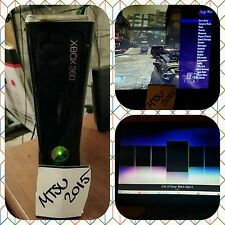 Xbox 360 S Modded 250gb w/ BO2 and Jiggy Mods READ DESCRIPTION! FAST/FREE Ship.