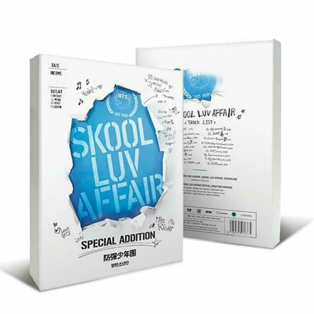 BTS [Skool Luv Affair] Special Addition - New/Sealed - Free Shipping