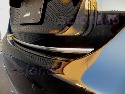 CHROME Style Fit SUBARUmodels 2004-2019 Tailgate TRUNK Trim Molding