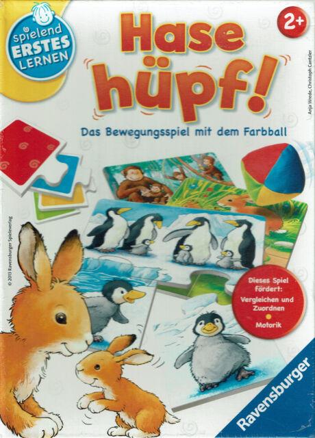 Ravensburger Hase Hüpf - empfohlen ab 2 Jahren - SP077