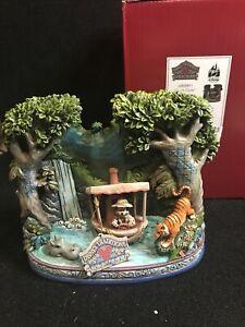 Disney Parks Jim Shore Figurine Figure MICKEY MOUSE JUNGLE CRUISE ATTRACTION