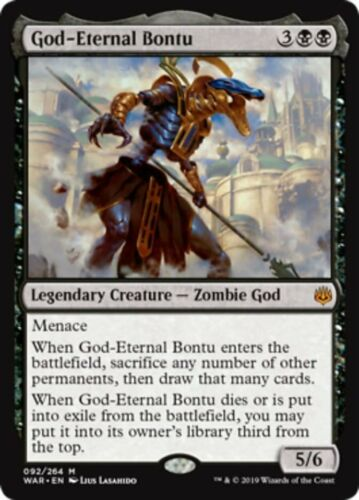 magicman-europe* War of the Spark Mythic *MtG FOIL GOD-ETERNAL BONTU