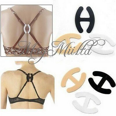 6 PCS Brand New Perfect Adjust Bra Strap Clip Cleavage Control Practical Hot H