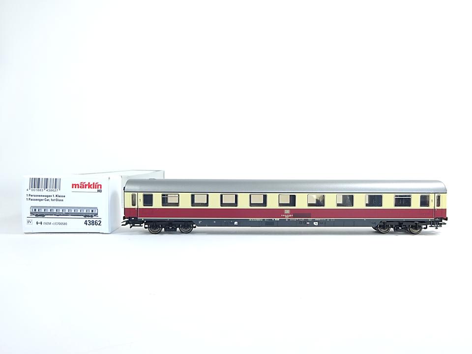 Märklin H0 43862, Personenwagen 1. Klasse, DB, neu, OVP