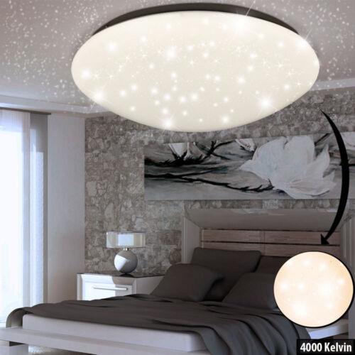 Design LED Tageslicht Decken Leuchte Schlaf Zimmer Sternen Himmel Effekt Lampe