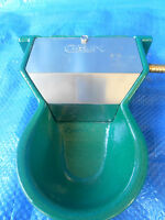 Gaun Mini Painted Aluminium Auto Fill Trough/cup/drinker/waterer From Solway