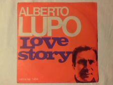 "ALBERTO LUPO Love story 7"" FRANCIS LAI"