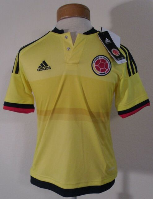 new style 9e18a 2c948 adidas Replica Colombia National Soccer Team Home Jersey Youth Size Medium