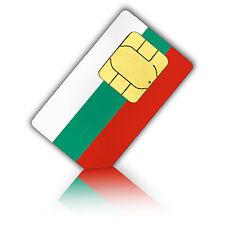 SIM Karte für Bulgarien mit 750MB mobiles Internet Nano