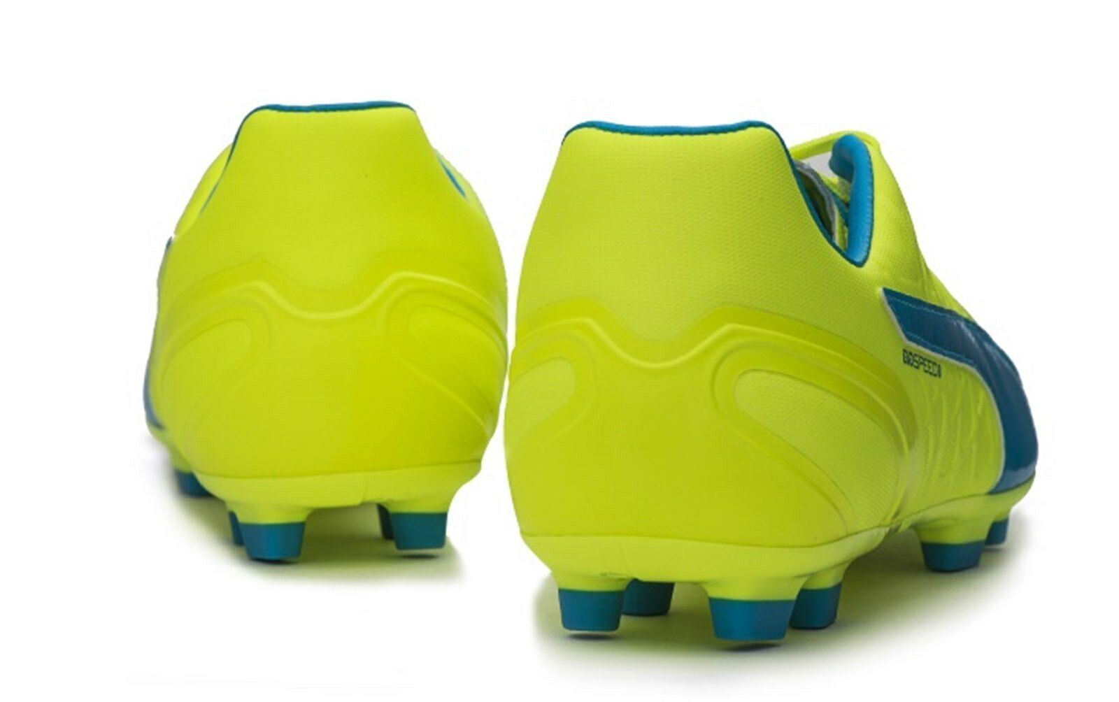 PUMA Men evo-SPEED 3.4 Leder Football AG Cleats Lime Soccer Football Leder Spike 103268-04 bb27fd