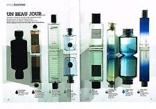 PUBLICITE ADVERTISING 114 2008 STYLES PARFUMS (4 p) homme J.P GAULTIER  etc...